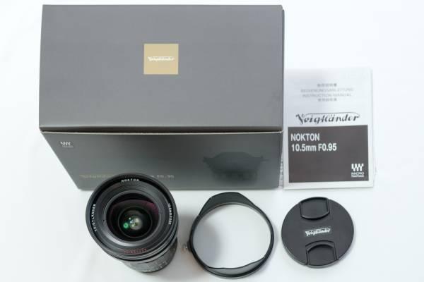 (極上美品)コシナ フォクトレンダーNokton10.5mm F0.95
