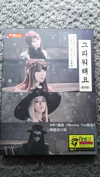 2NE1ベストDVD ライブグッズの画像