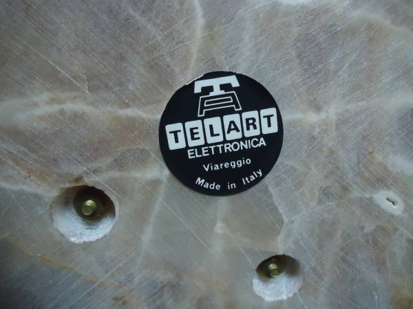 アンティーク アナログ電話機 TELART ELETTRONICA オブジェなどに!_画像3