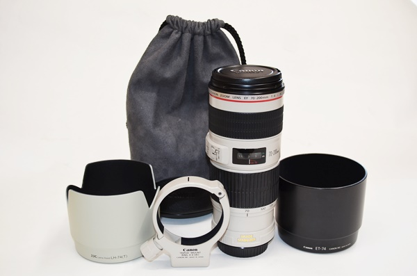 美品 キャノン レンズ CANON LENS EF 70-200mm 1:4 L IS USM 税込