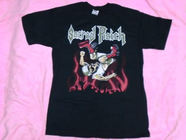 SACRED REICH セイクレッド ライチ Tシャツ M ロックT バンドT ツアーT Metallica Testament