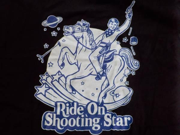 ザ・ピローズ他★ride on shooting star カウボーイ半袖Tシャツ(黒)