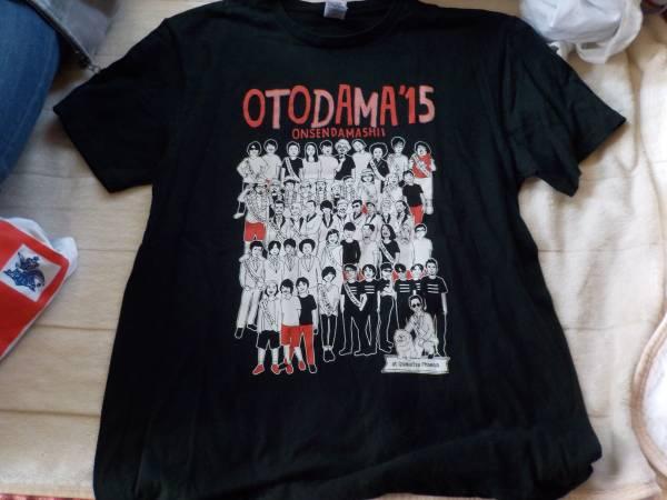 otodama15onsendamasii★音魂温泉魂15半袖Tシャツ(黒)レキシ、スカパラ・ハナレグミ・他