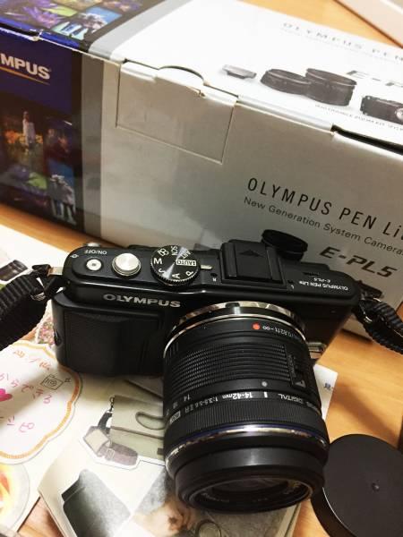 ■OLYMPUS PEN Lite E-PL5 ミラーレス一眼レフカメラ オリンパス