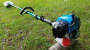 新ダイワ RM250 草刈機 草津 刈り払い機 刈払機 ロングシャフト ジュラルミン ループハンドル シンダイワ