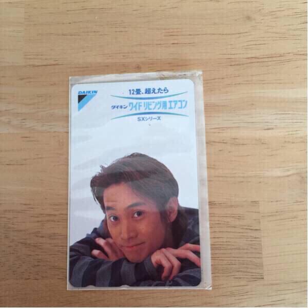 SMAP 中居正広テレホンカード未使用 非売品 レア コンサートグッズの画像