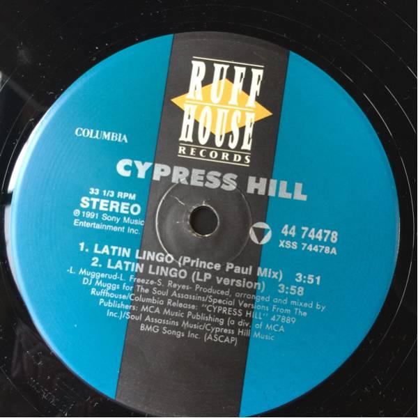 ◆ CYPRESS HILL サイプレス・ヒル◎Latin Tango / Stoned Is the Way Hand on the glock(12インチ)【型番号】098707447815