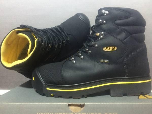 新品 KEEN UTILITY Milwaukee WP 29.5cm EE Black キーン ミルウォーキー 防水 ワークブーツ ブラック ブーツ スチールトゥ 安全靴 1009173_画像2