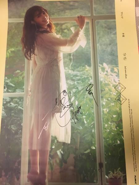 Apink【チョン・ウンジ】直筆サイン入り★空間ポスター