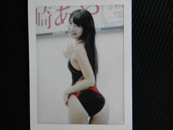 川崎あや【チェキ】写真【同梱無料】スクール水着B