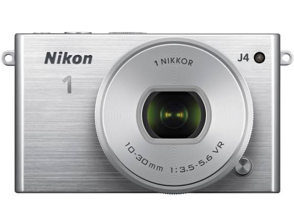 Nikon 1 J4 パワーズームレンズキット [シルバー] 1839万画素/中古美品