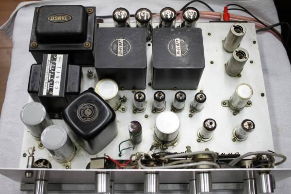 ♪6V6GT P.P自作真空管アンプ 要修理品♪_画像2