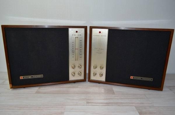 ♪♪National/Panasonic 真空管ラジオ RE-760 RD-761(ジャンク品) アンティーク 昭和レトロ♪♪