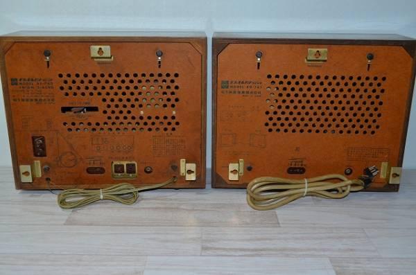 ♪♪National/Panasonic 真空管ラジオ RE-760 RD-761(ジャンク品) アンティーク 昭和レトロ♪♪_画像2