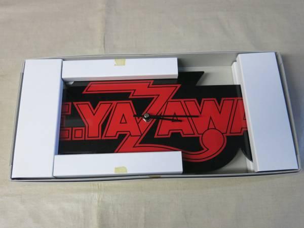 V683矢沢永吉クォーツ時計 定番ロゴ 置き時計 未使用 箱付き ライブグッズの画像