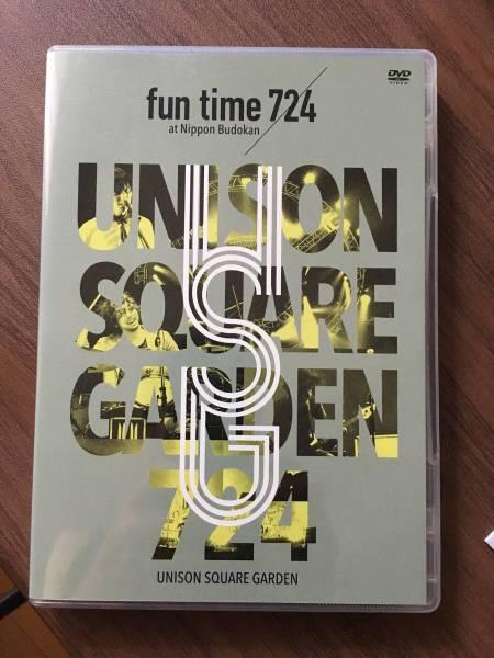 """【中古】UNISON SQUARE GARDEN LIVE """"fun time 724at Nippon Budokan ライブグッズの画像"""