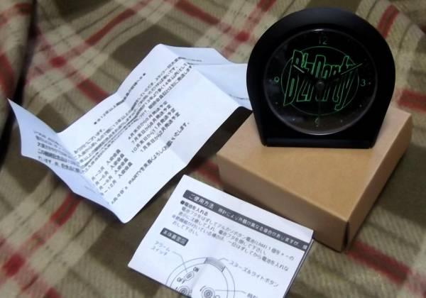★B'z★ファンクラブ継続記念品(13年以上)「アラームクロック」電池入り
