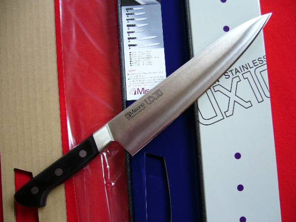 ★★ミソノ MISONO UX-10 牛刀包丁 240mm★本刃付★_とても高品質なおすすめの牛刀240mm