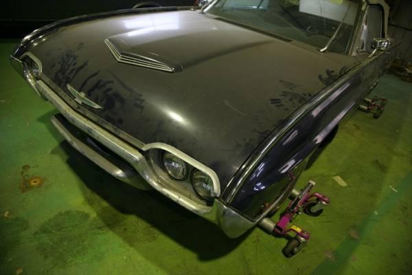 1963 Ford Thunderbird Convertible キー&書類あり!錆なし倉庫保管レストアベース!最