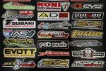 合計150枚 レーシングステッカーUSDMキャリーバッグ車シールオートバイデカールアメ車世田谷ベース