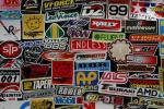 合計152枚 レーシングステッカーUSDMキャリーバッグ車シールオートバイデカールアメ車世田谷ベース