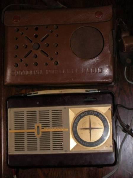昭和レトロ ナショナル真空管ラジオ NATIONAL ジャンク品 ラジオカバー有り ラジオケース ラジオ部品