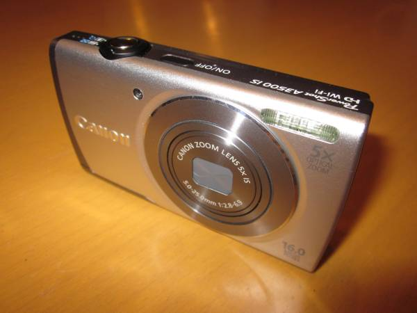 Canon PowerShot A3500 IS/Wi-Fi 搭載
