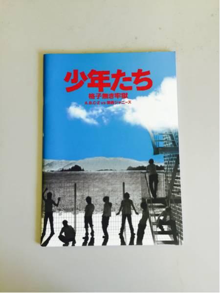 送料0円 少年たち 格子無き牢獄 パンフレット A702