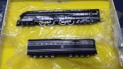Samhongsa PRR 6-4-4-6 S-1 PAINTED PENNSYLVANIA 蒸気機関車6100 Nゲージ 金属製