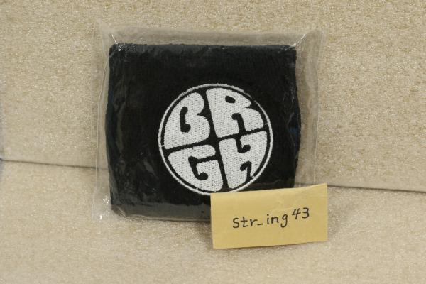 新品 BELLRING少女ハート リストバンド 黒×白 グッズ ベルハー もえち