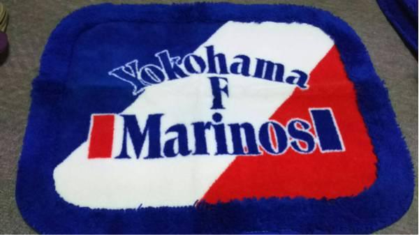 横浜Fマリノスロゴの玄関マット2枚、ブラケット1枚をセットで 【未使用品】 グッズの画像