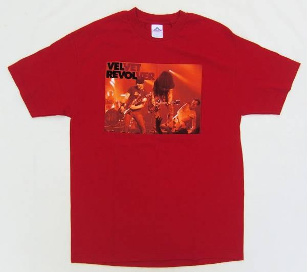ヴェルヴェット・リヴォルバー VELVET REVOLVER 古着バンドTシャツ 2005年 L GUNS 'N' ROSES STONE TEMPLE PILOTS