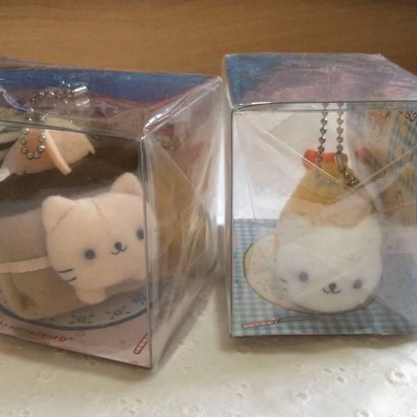 新品! にゃんにゃんにゃんこ にゃんこレストラン エビフにゃイ&チョコにゃんこケーキ グッズの画像