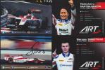 2016ART GP2●松下信治・シロトキン●サイン入りカード2枚set