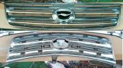 NZE141 NZE144 ZRE142 ZRE144カローラアクシオX、Gグレード前期純正メッキフィングリル(E140系カローラフィールダー流用にも)