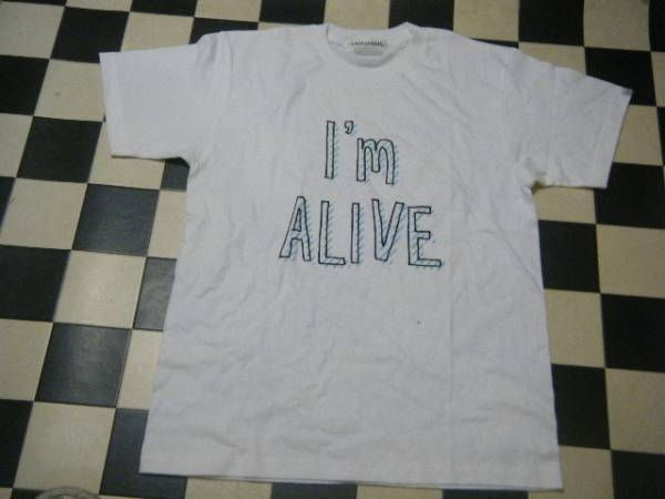 ms ooja 新品 Tシャツ サイズM I'm ALIVE 白 G5410