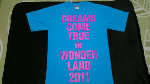 DREAMS COME TRUE ドリカム WONDERLAND2011 西日本限定 大阪長居 限定Tシャツ