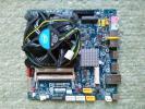 ☆ GIGABYTE GA-H77TN mini-ITX LGA1155 マザーボード CPU i5-2500 純正ファン 社外ACアダプタ 付 中古良品 ☆