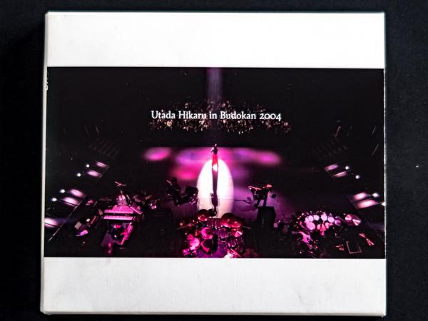 DVD 宇多田ヒカル Utada Hikaru in BudoKan 2004 ヒカルの5 ライブグッズの画像