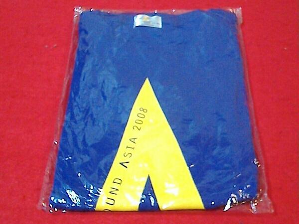 嵐 ARASHI AROUND ASIA 2008 Tシャツ パープル★新品