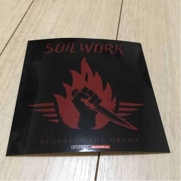 soilwork ソイルワーク 非売品 ステッカー シール stabbing the drama スウェーデン メロディック デス メタル バンド