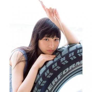 私立恵比寿中学 松野莉奈 BLT 写真パネル(サイン無し) エビ中 りななん ライブグッズの画像