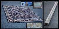カーペット 極上 ベルギー絨毯 ウール ベルガマ カーペット 毛100% 織り物 ラグ