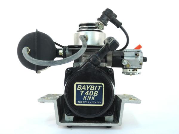 ジャンク BAYBIT ベビット T40B KNK 水冷 ガソリン エンジン Y2475922_画像2
