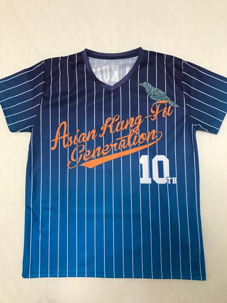 ASIAN KUNG-FU GENERATION 10周年記念Tシャツ Lサイズ アジカン ライブグッズの画像