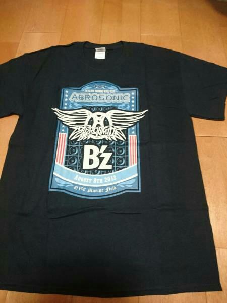 B'z エアロソニック 限定 Tシャツ Lサイズ 検索 ポスター エアロスミス