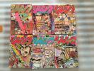 6冊 1981年 月刊少年ジャンプ まとめて セット 当時物 レア レトロ 昭和 ビンテージ 希少 昭和56年 S56年