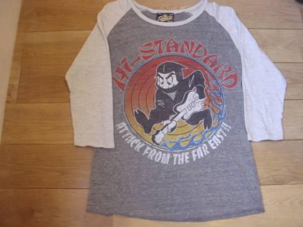 Hi-standard ハイスタンダード 忍者 ラグラン7分袖 Tシャツ ライブグッズの画像