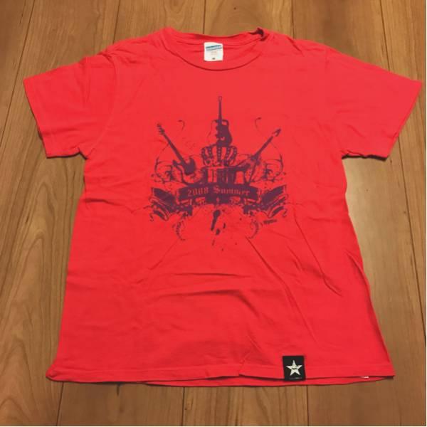 送料164円【レア】スピッツ(SPITZ)2008 SUMMERTシャツ ピンク ライブグッズの画像
