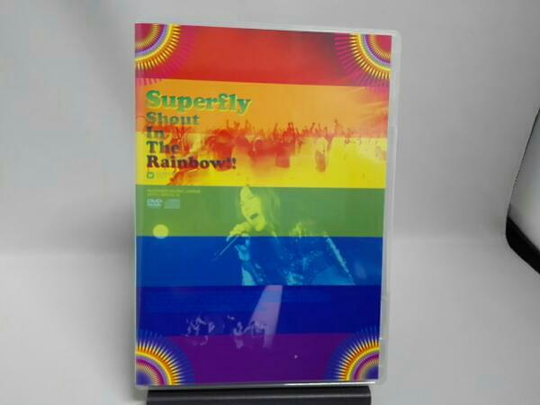 Superfly/Shout In The Rainbow!!(初回限定版) ライブグッズの画像